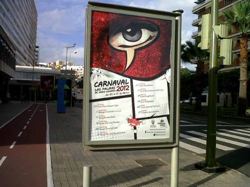 GANADOR Cartel Carnaval Las Palmas GC 2012 4