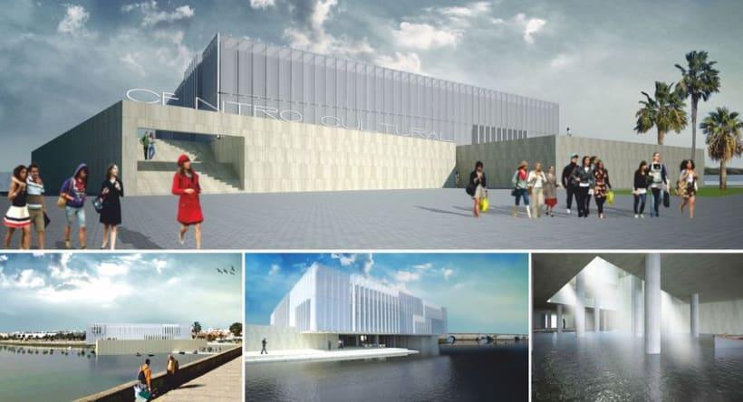 Centro Cultural en la Bahía de Cádiz 14