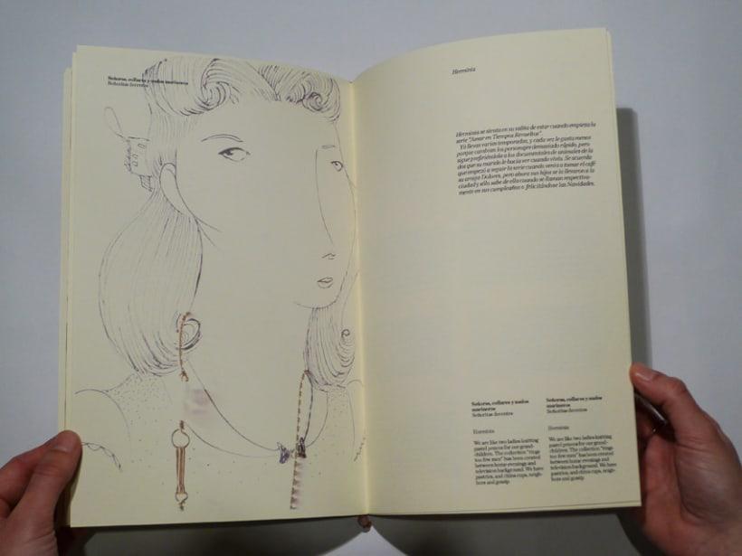 """Diseño editorial catálogo """"Latonta y Larubia"""" 5"""