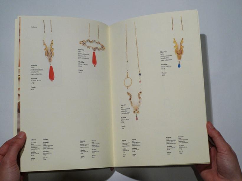 """Diseño editorial catálogo """"Latonta y Larubia"""" 4"""