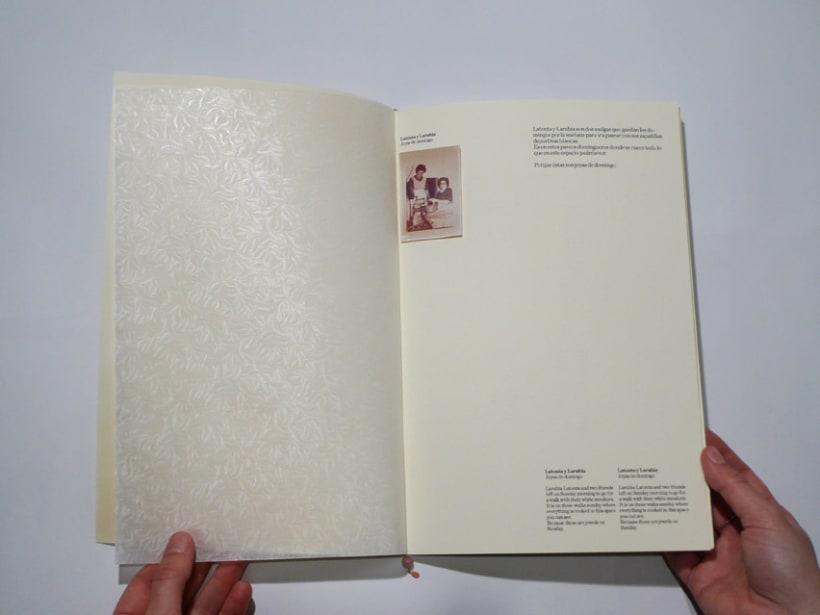 """Diseño editorial catálogo """"Latonta y Larubia"""" 3"""