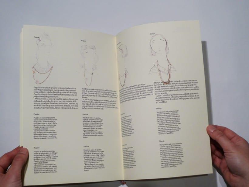 """Diseño editorial catálogo """"Latonta y Larubia"""" 2"""