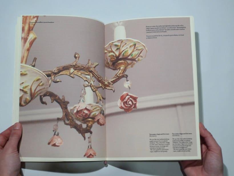"""Diseño editorial catálogo """"Latonta y Larubia"""" 1"""