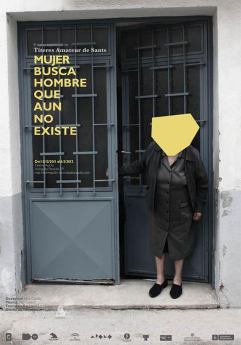 Gráfica Identitaria Teatro Apolo, Barcelona 3