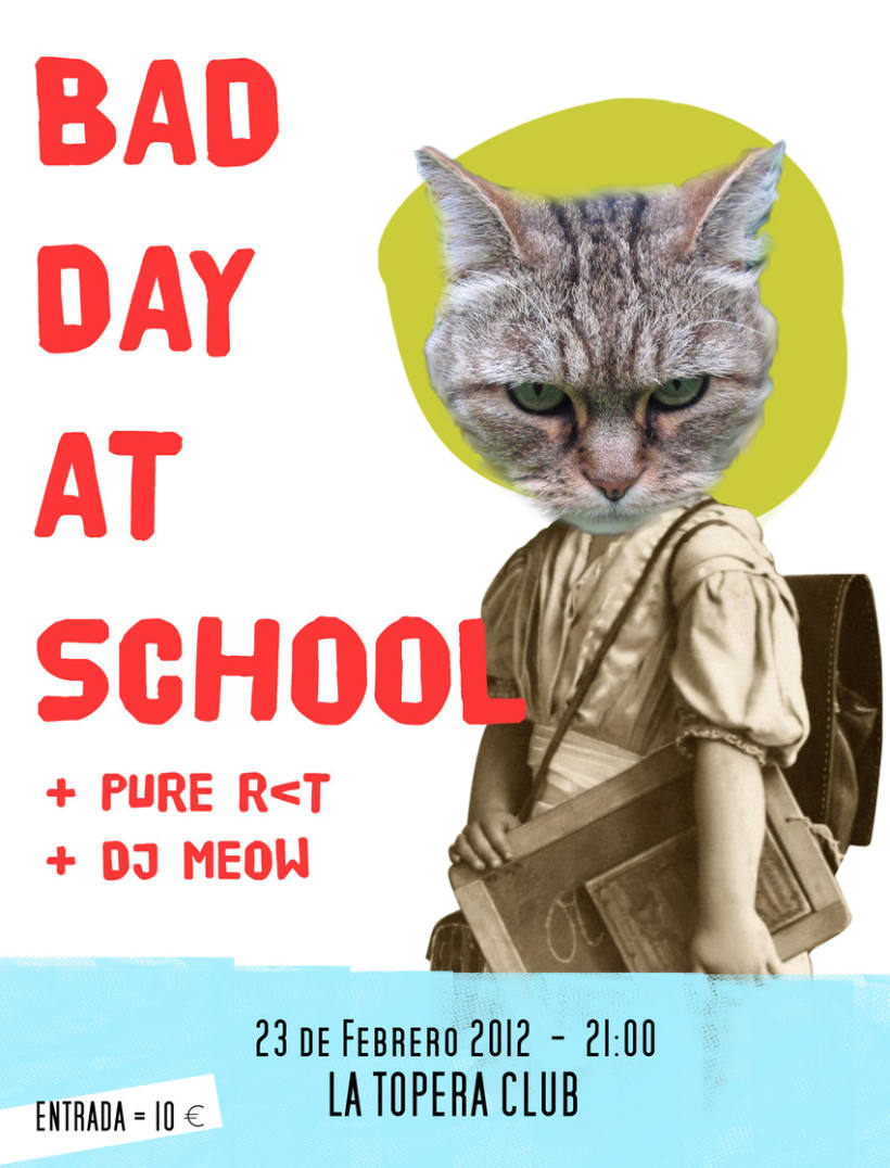 bad day at school poster 1