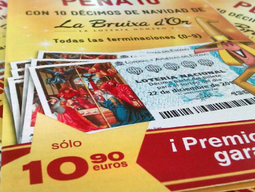 Campaña para la venta de Lotería de La Bruixa d'Or 4