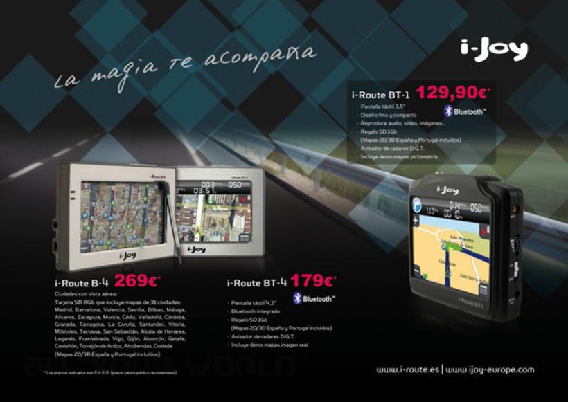 Publicidad para i-Joy 2