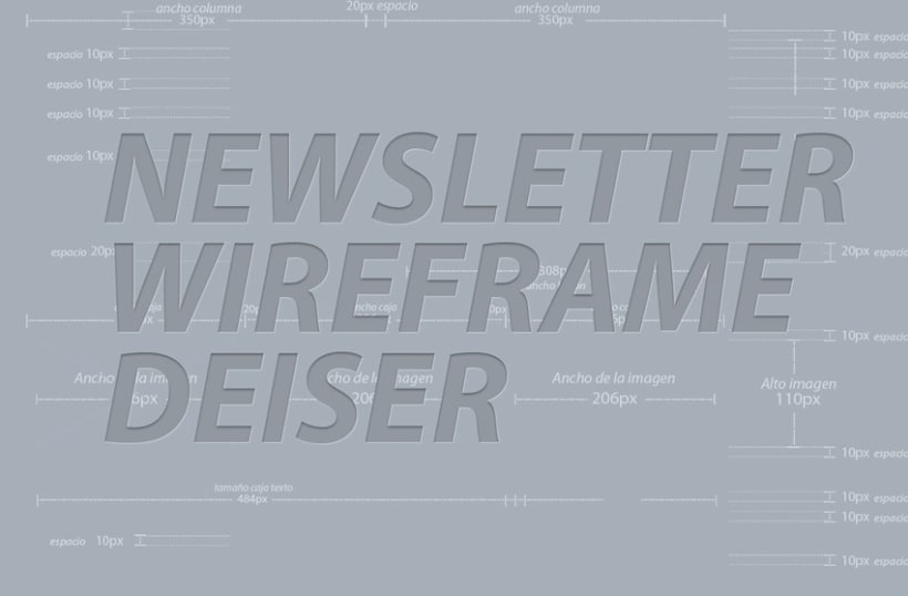 Newsletter Wireframe 6