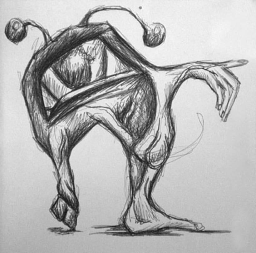 Ilustración con Bolígrafo 6