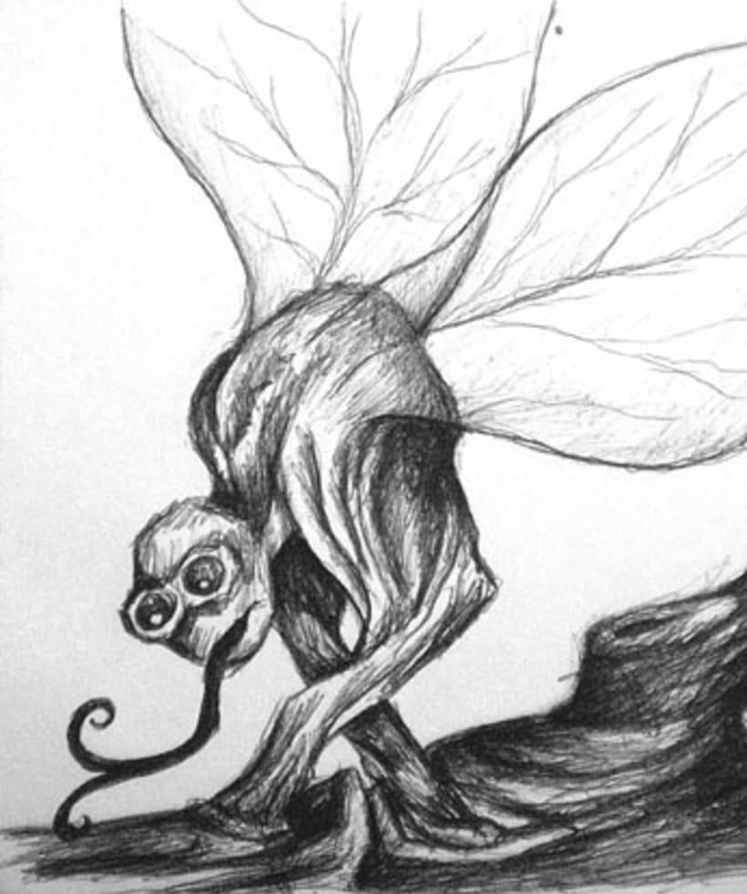 Ilustración con Bolígrafo 5