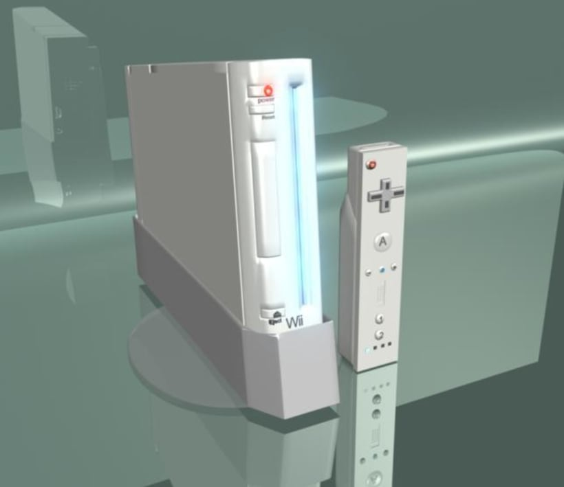 Consola de video juego 1