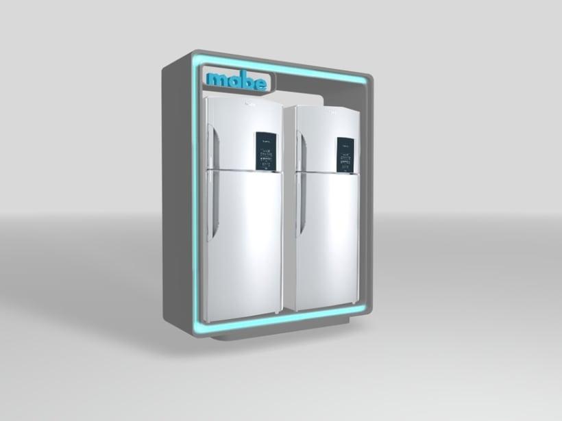 Diseño de mueble para refrigeradora 1