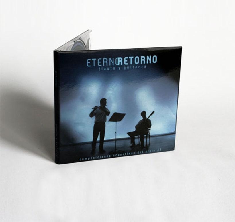 Eterno Retorno | Diseño de Album de CD 3