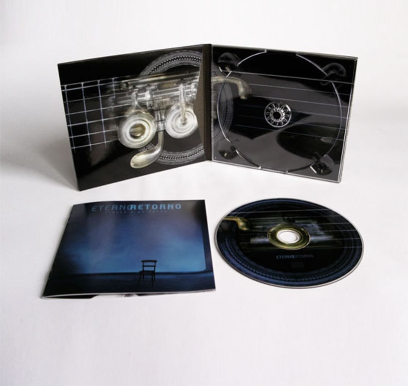 Eterno Retorno | Diseño de Album de CD 1