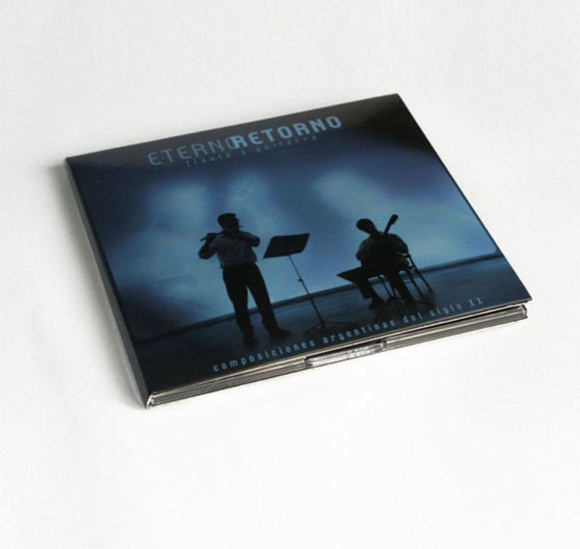 Eterno Retorno | Diseño de Album de CD 2