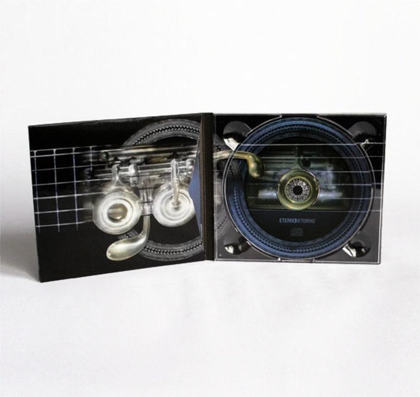 Eterno Retorno | Diseño de Album de CD 4