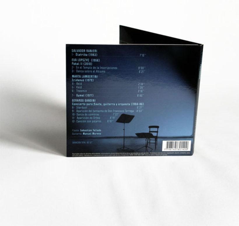 Eterno Retorno | Diseño de Album de CD 5