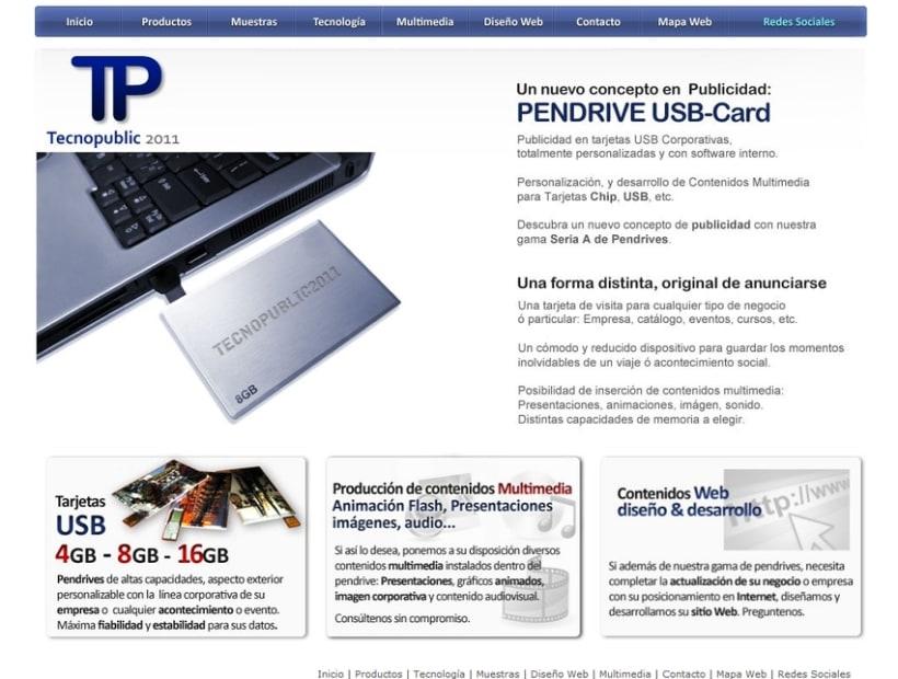 Tecnopublic website 1