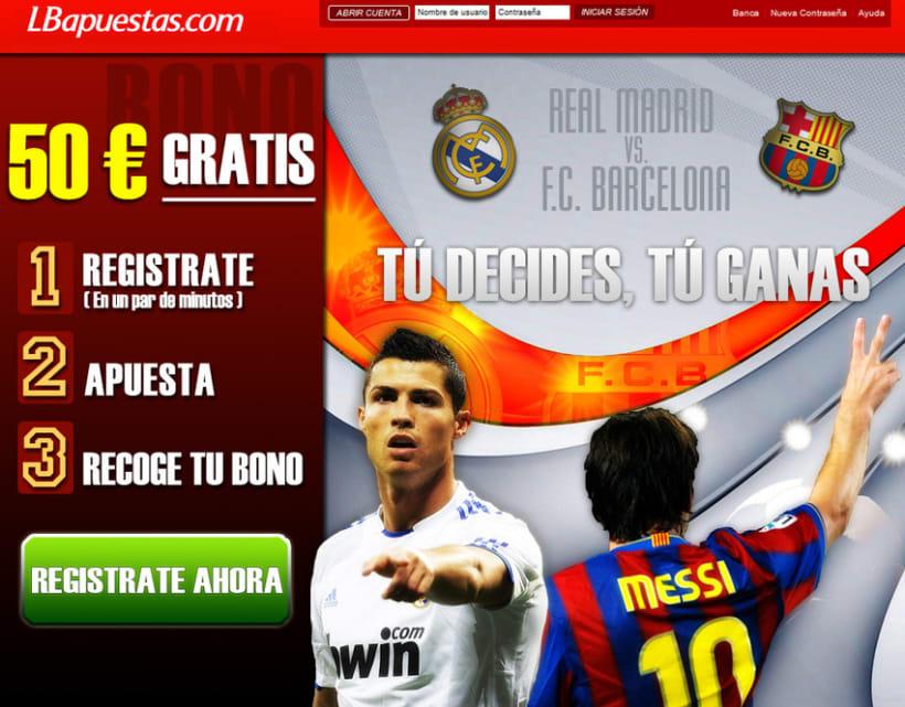 Campaña Sports para Lbapuestas.com 2