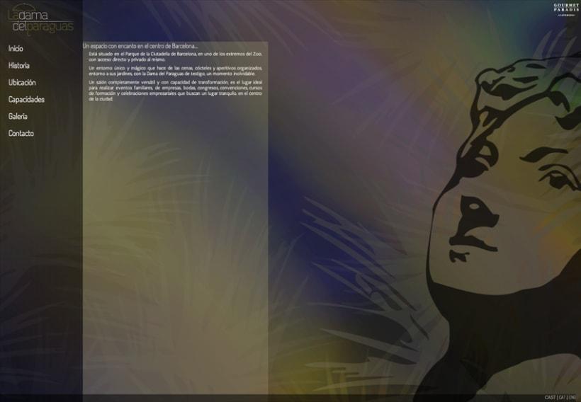 Diseño logo y Website de  5