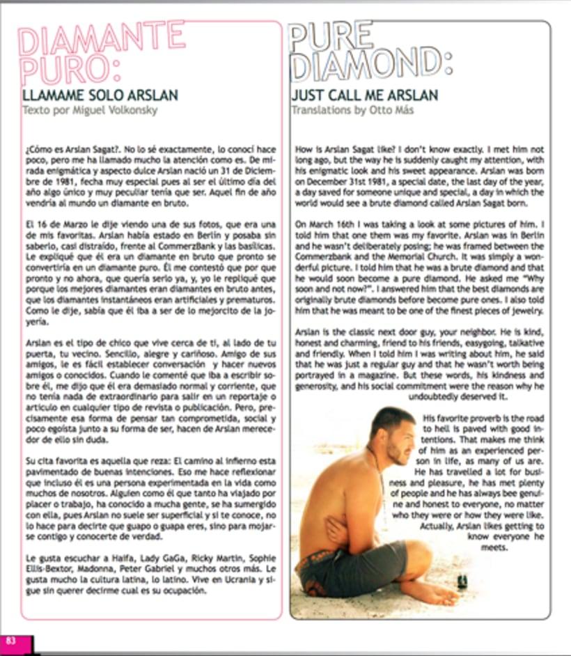 Maquetación revista online Variet 58
