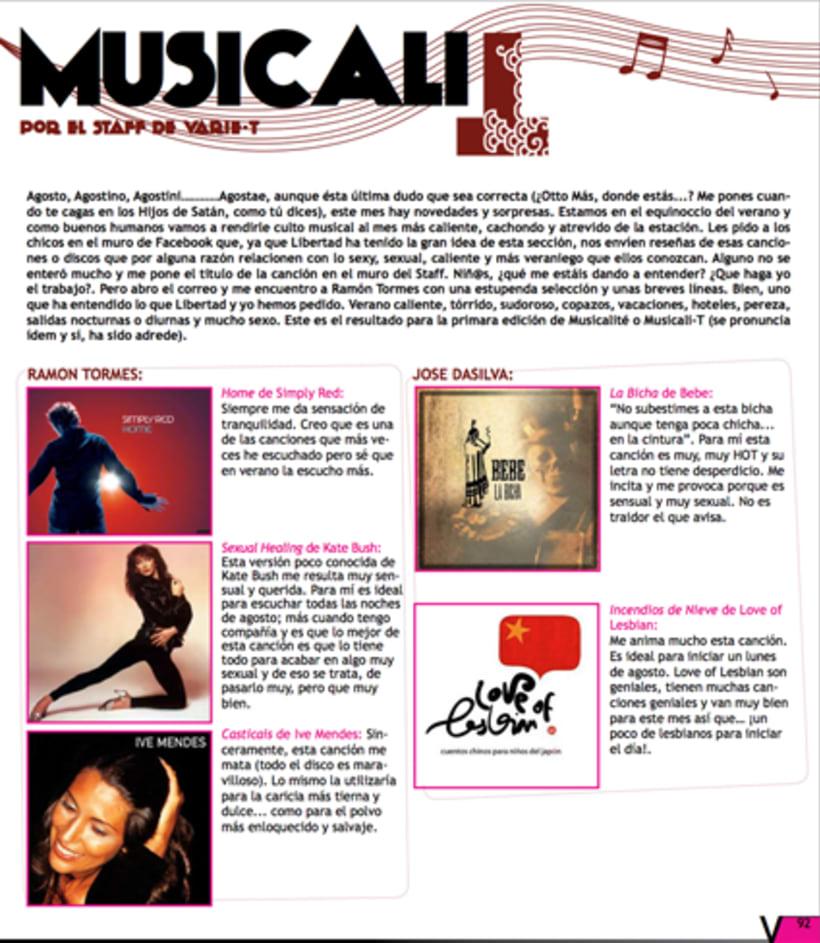 Maquetación revista online Variet 49