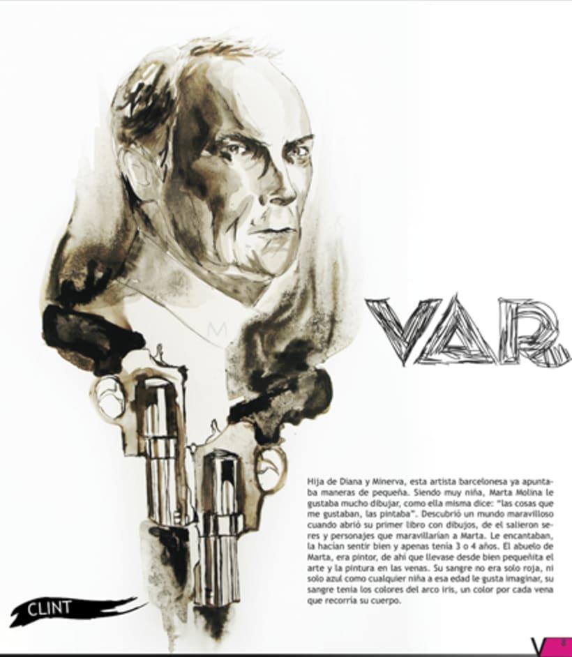 Maquetación revista online Variet 43