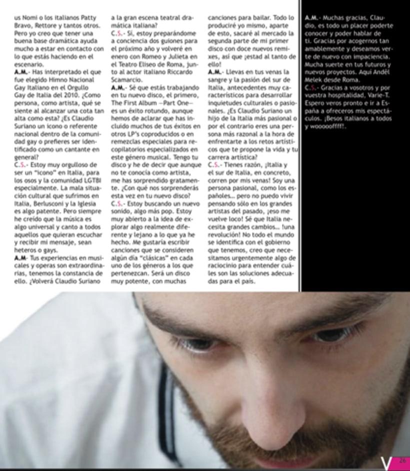Maquetación revista online Variet 41