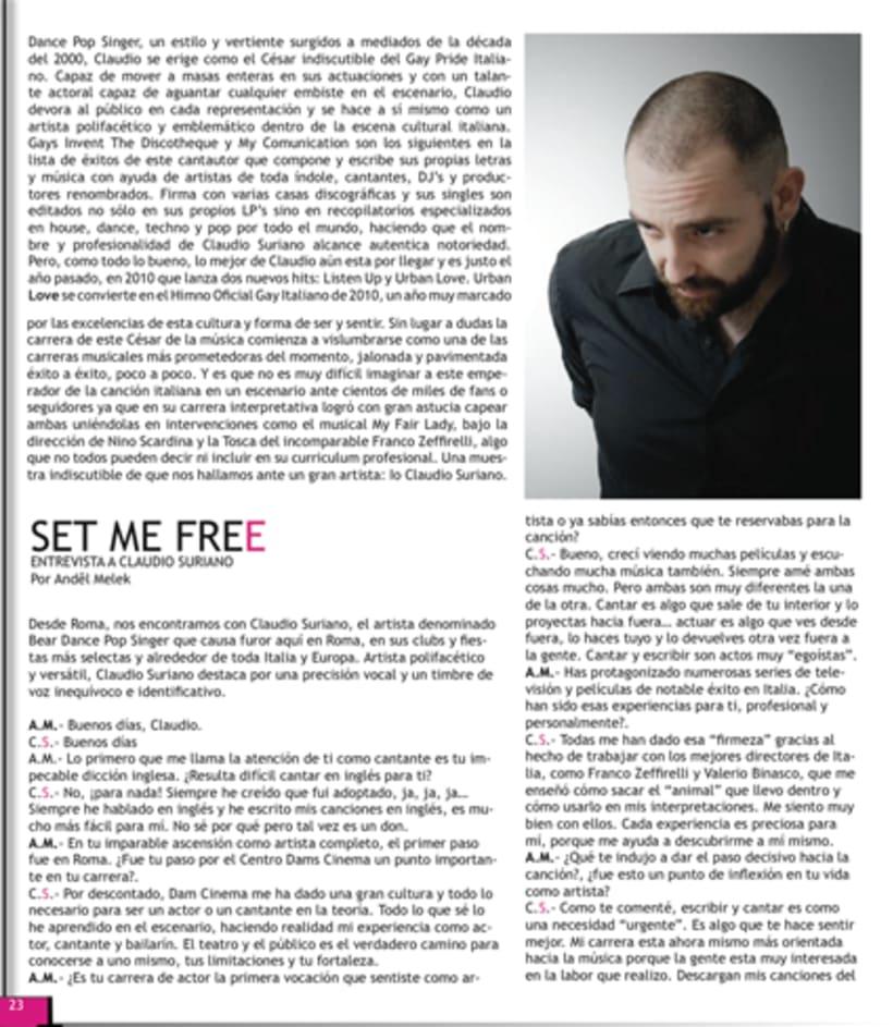 Maquetación revista online Variet 40
