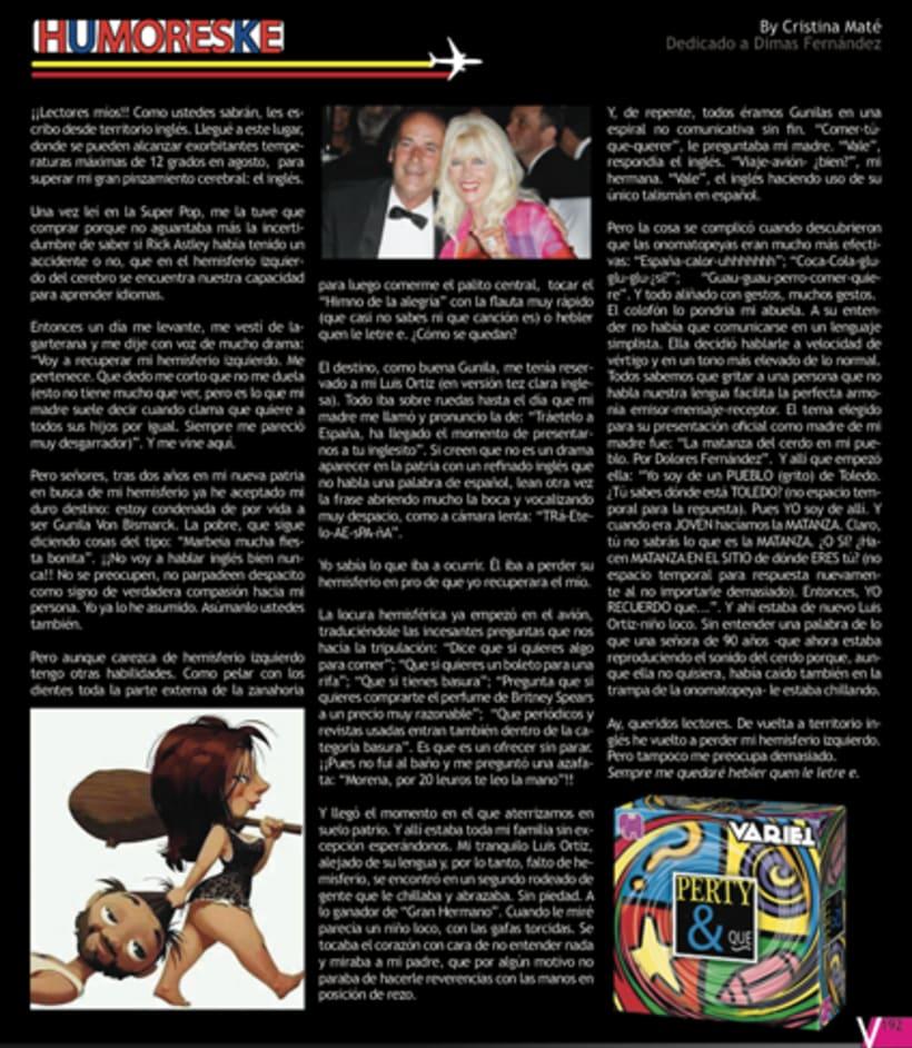 Maquetación revista online Variet 37