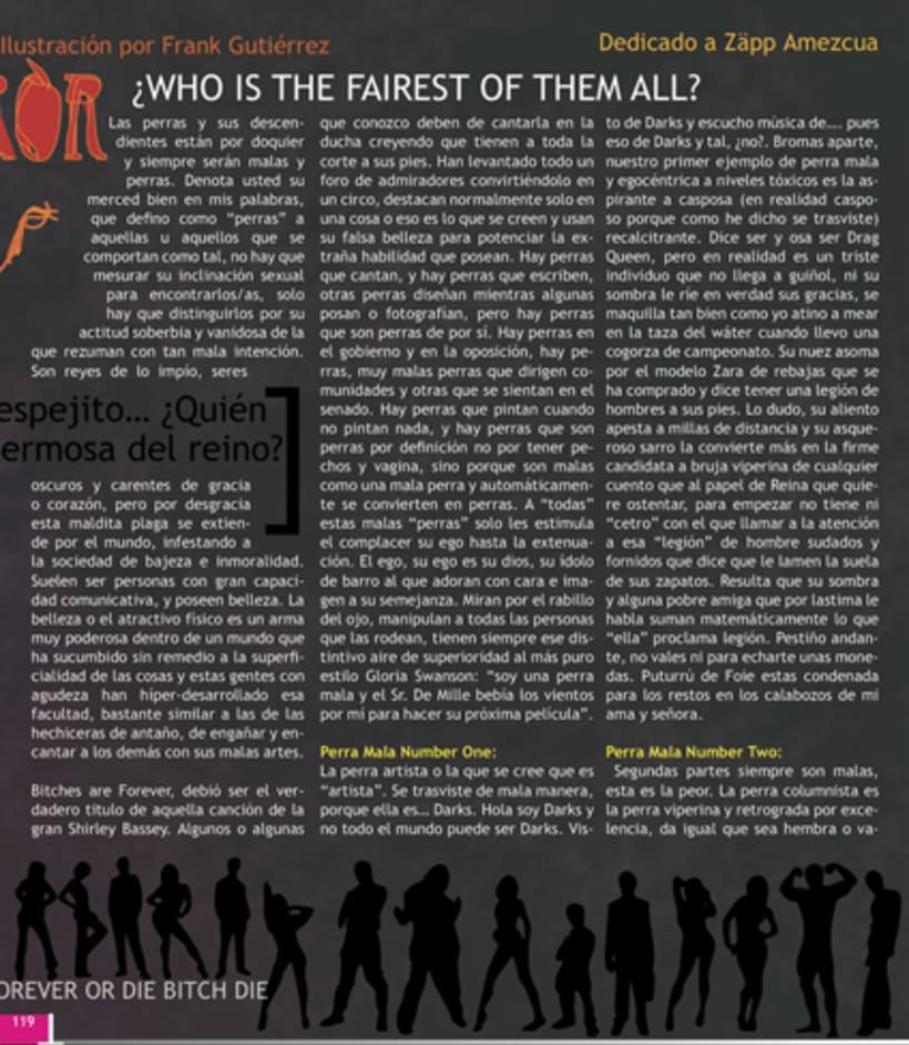 Maquetación revista online Variet 19