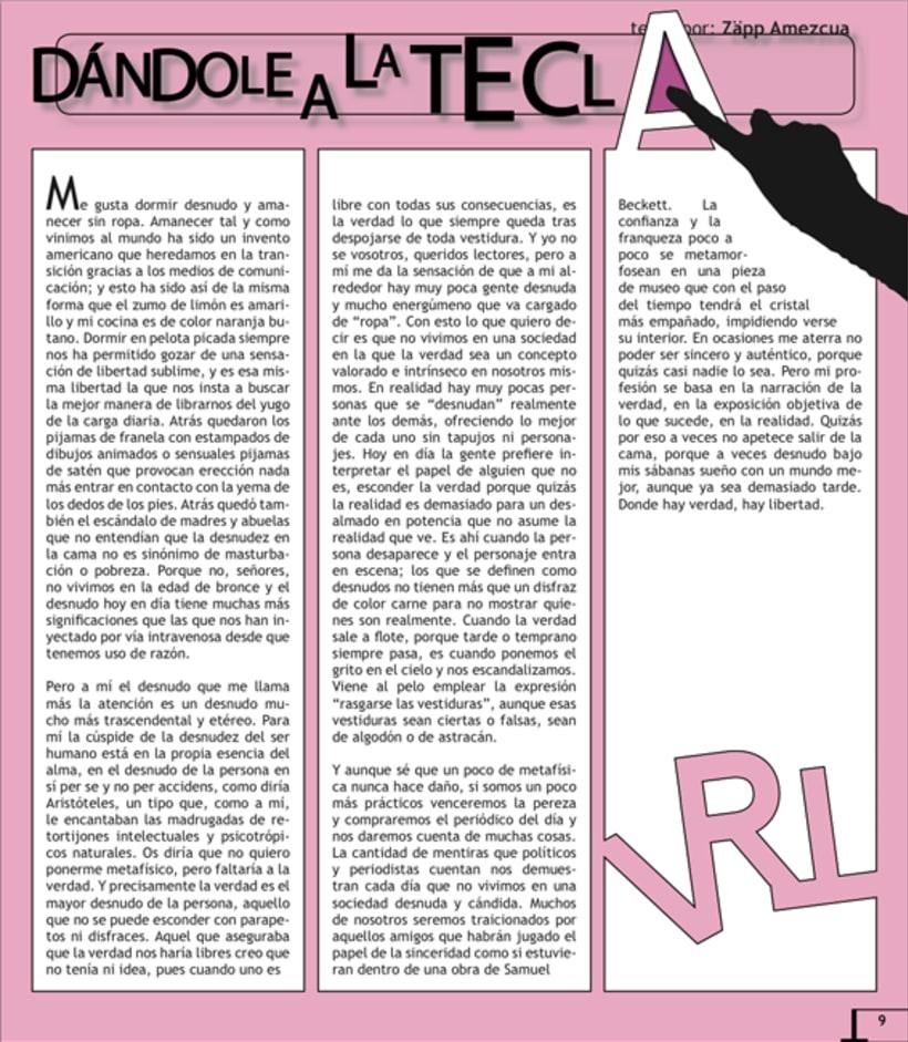 Maquetación revista online Variet 12