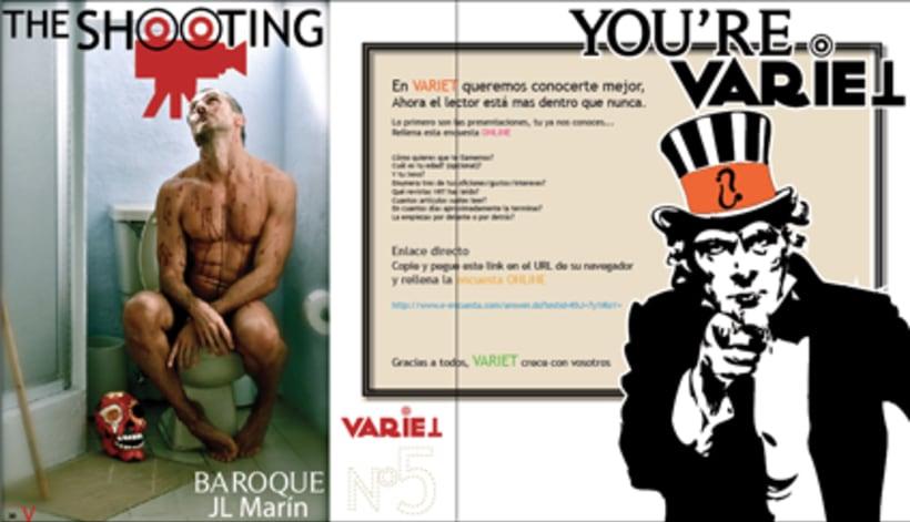 Maquetación revista online Variet 10