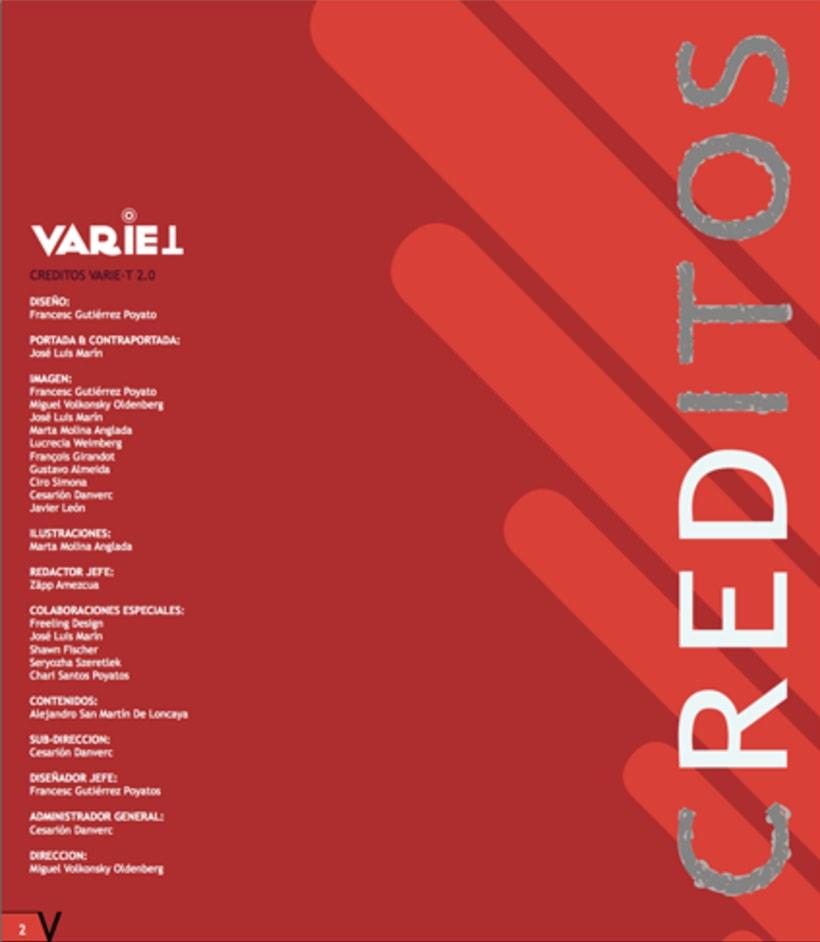 Maquetación revista online Variet 8