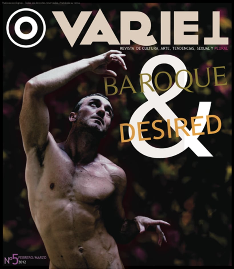 Maquetación revista online Variet 2