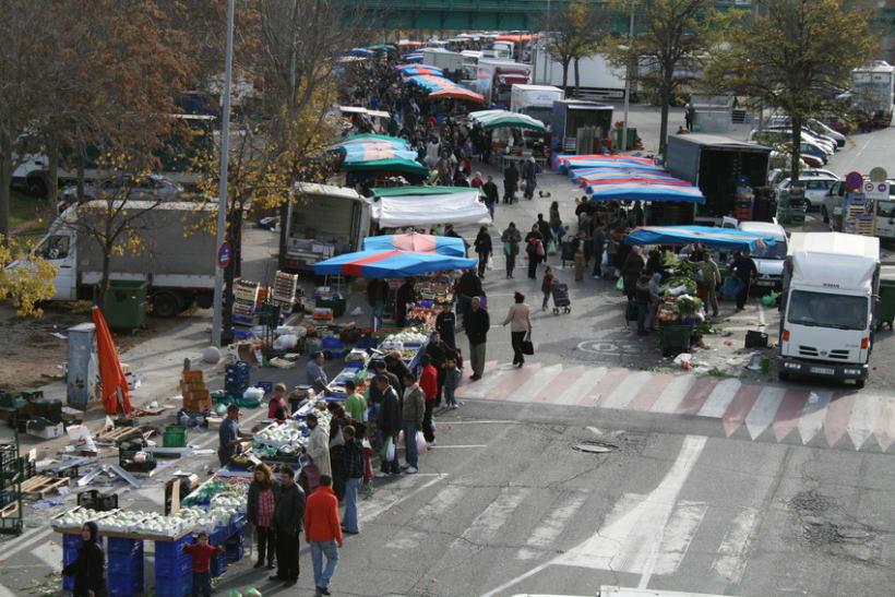 Mercado semanal de Canovelles 1