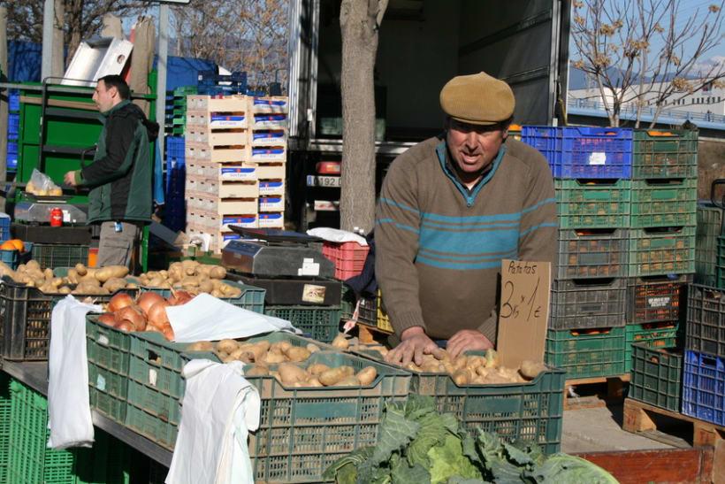 Mercado semanal de Canovelles 9