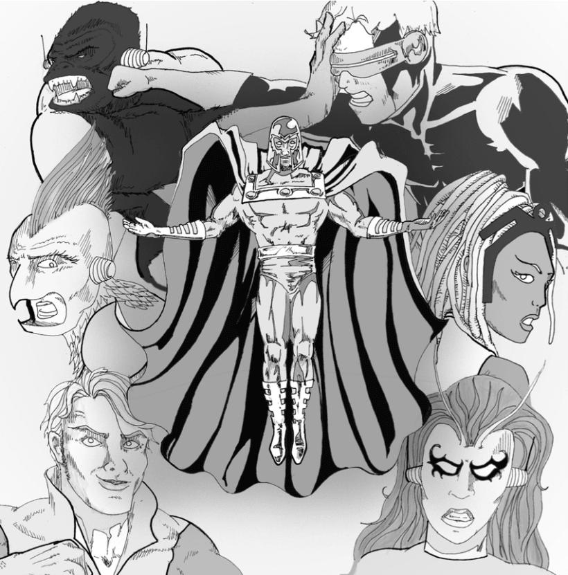 Ilustraciones Marvel 1
