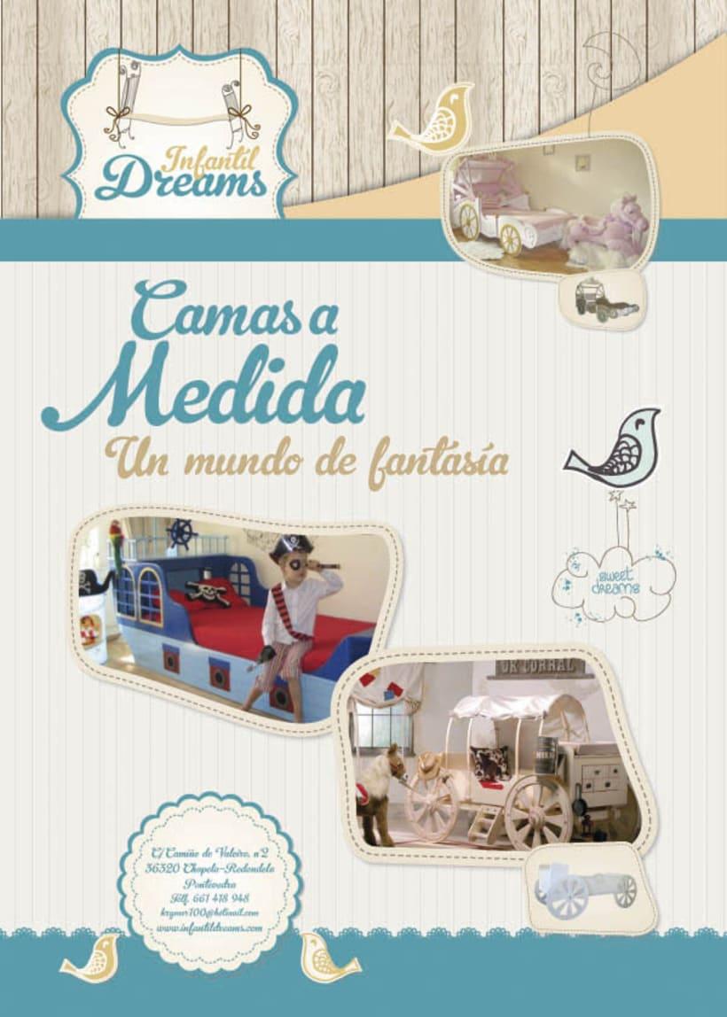 Identidad Corporativa Infantil Dreams 2