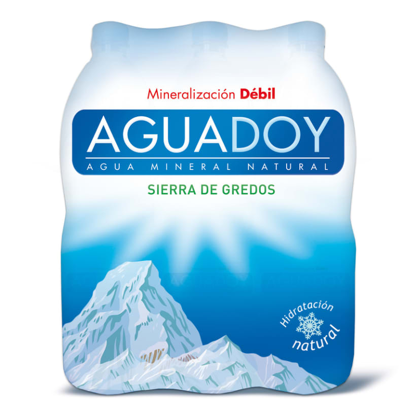 Packaging Agua Mineral 4
