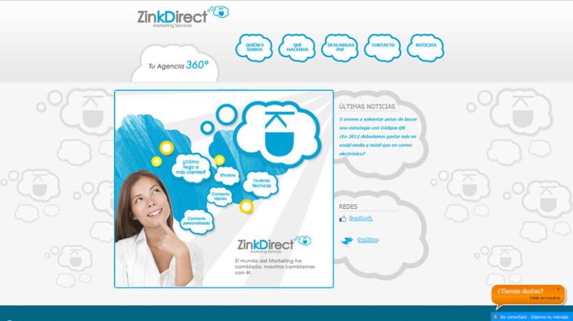 Zinkdirect Web e Imagen Corporativa 2