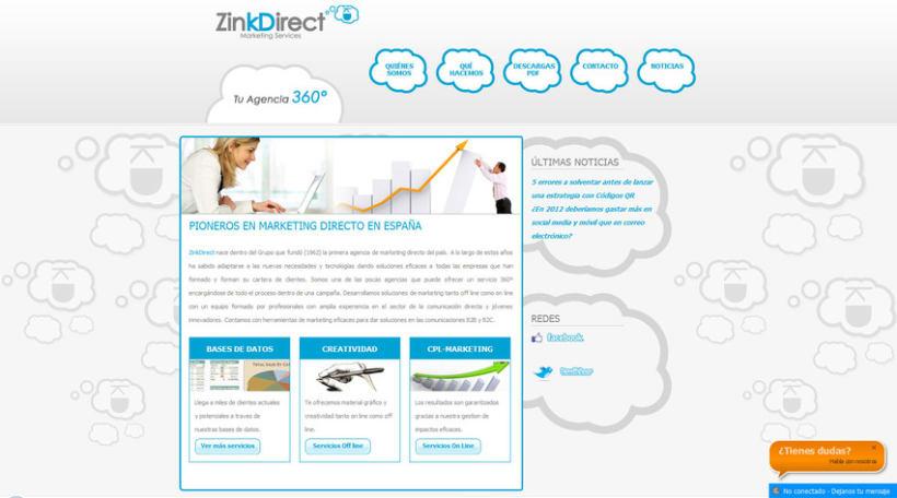 Zinkdirect Web e Imagen Corporativa 3
