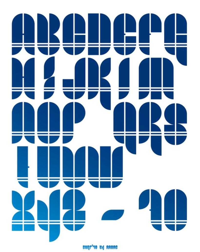 Surf '70 Typography 3