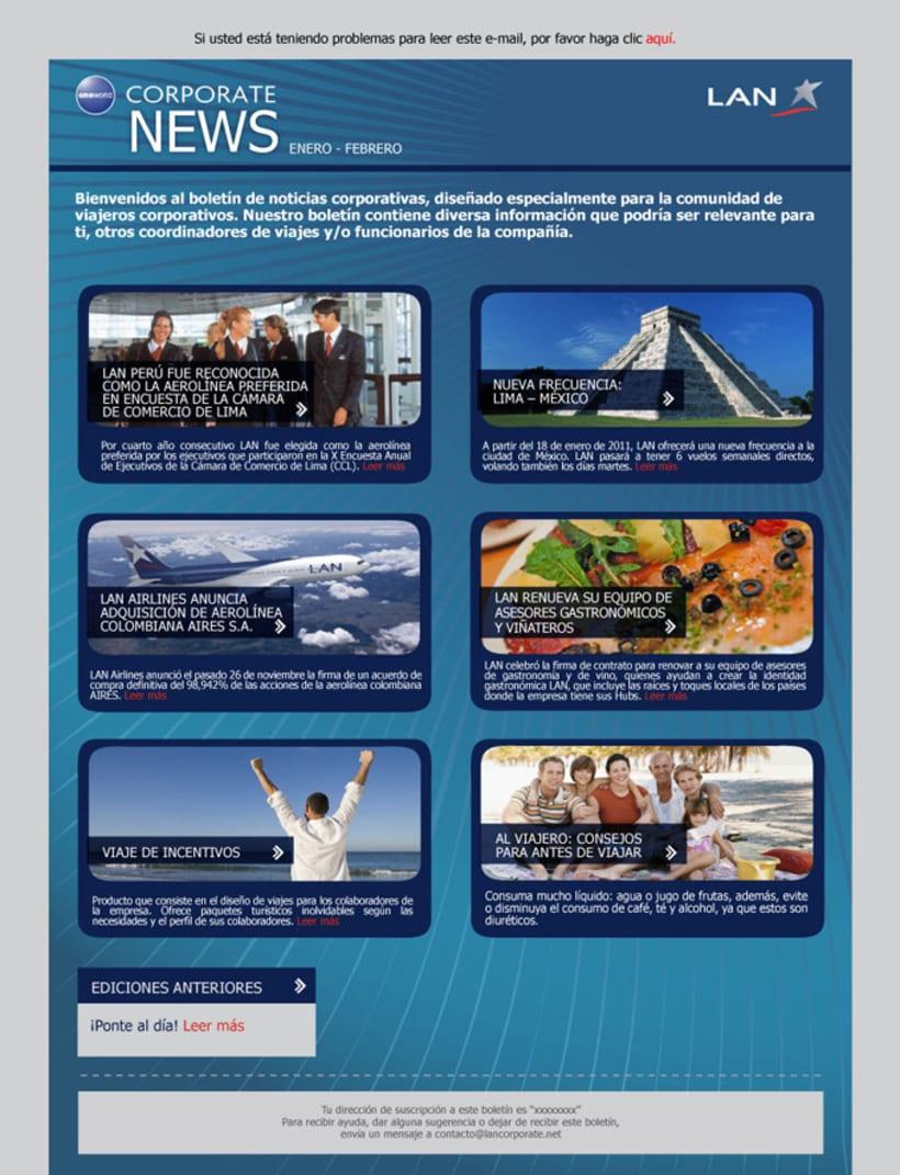 Campañas publicitarias | LAN Perú 5