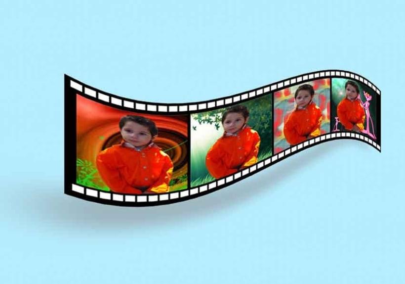 Efecto cinta de pelicula para las fotos  2