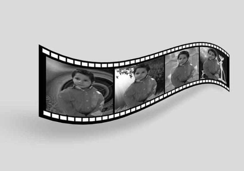 Efecto cinta de pelicula para las fotos  3