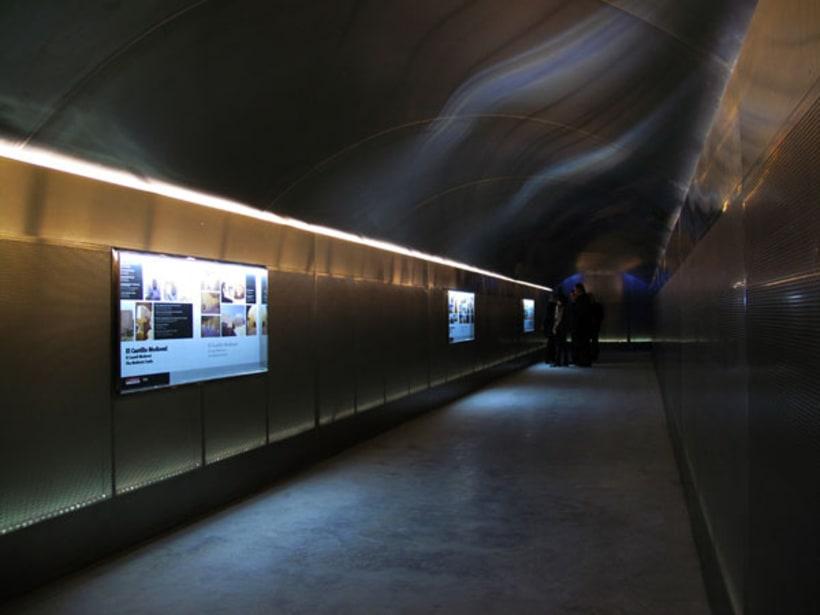 Túnel acceso Sta. Bárbara 1