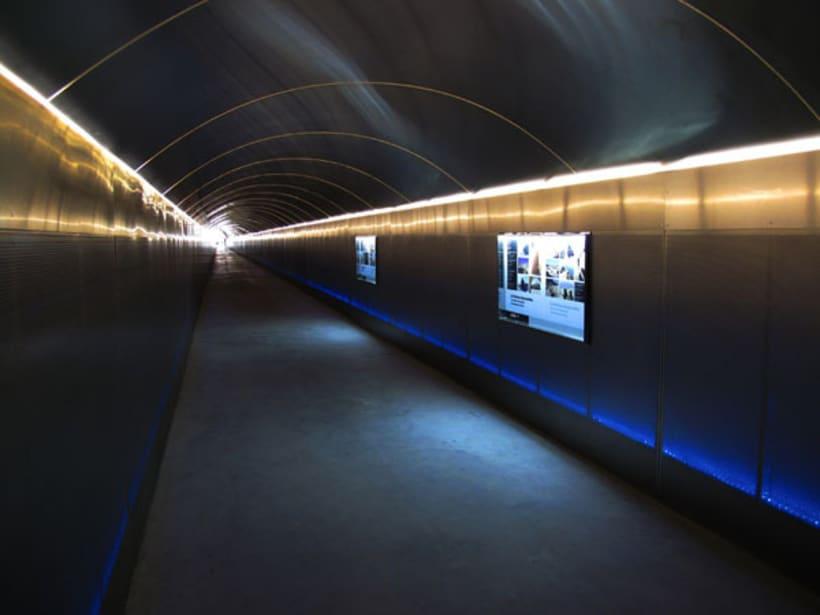 Túnel acceso Sta. Bárbara 2