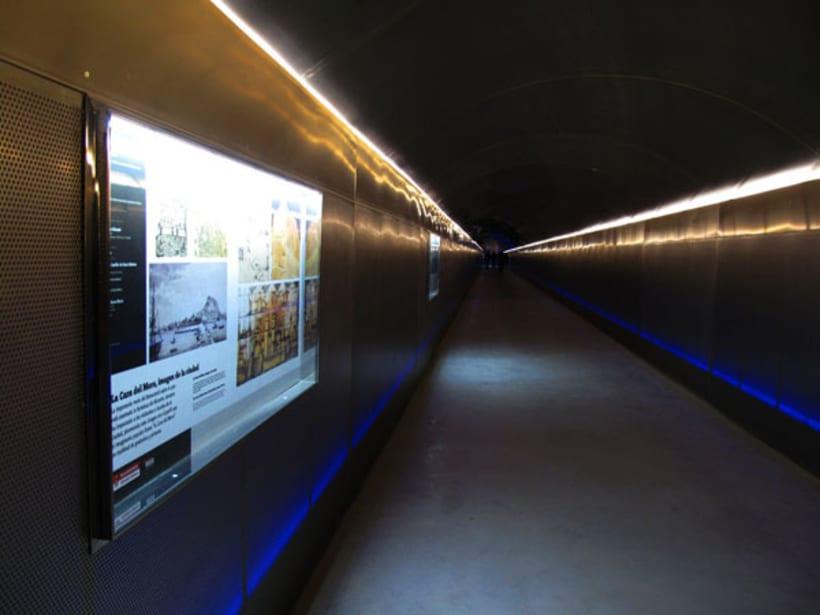 Túnel acceso Sta. Bárbara 3