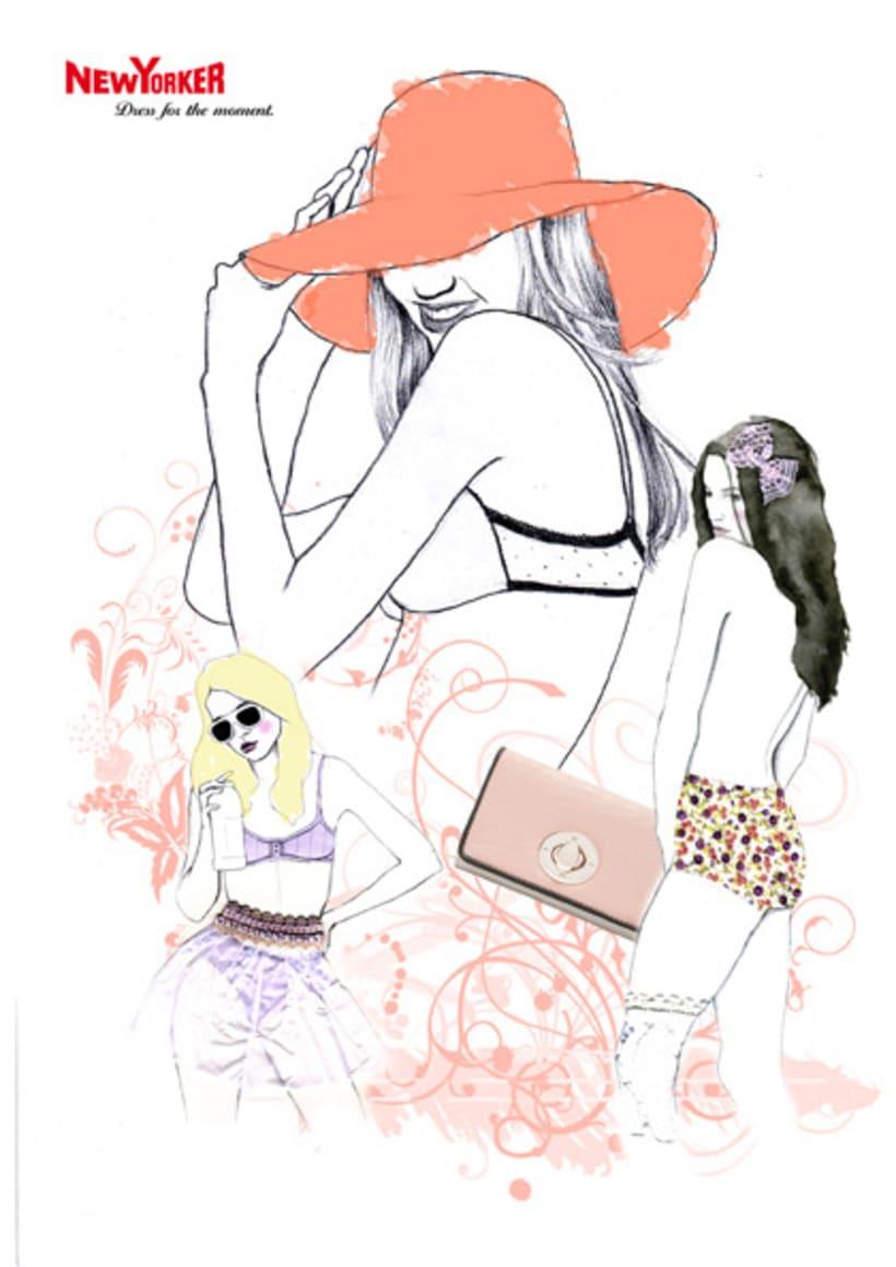 Ilustación de moda 5